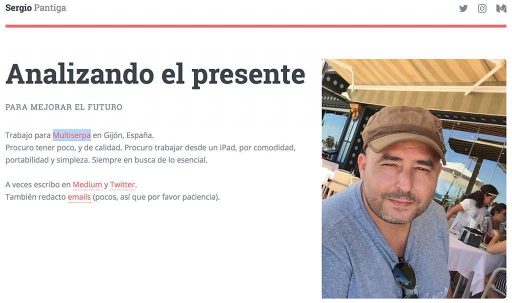 Sergio Pantiga Ramos Productividad Aprendiendo GTD