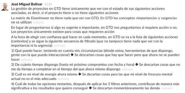 Implantar GTD en Todoist desde cero