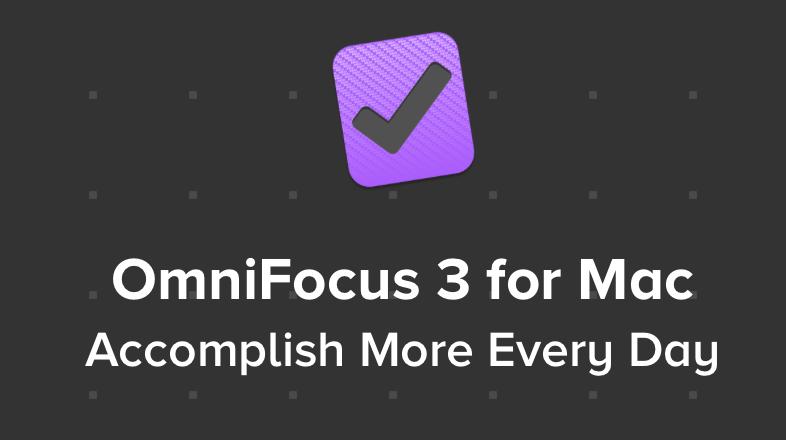 Omnifocus 3 para mac