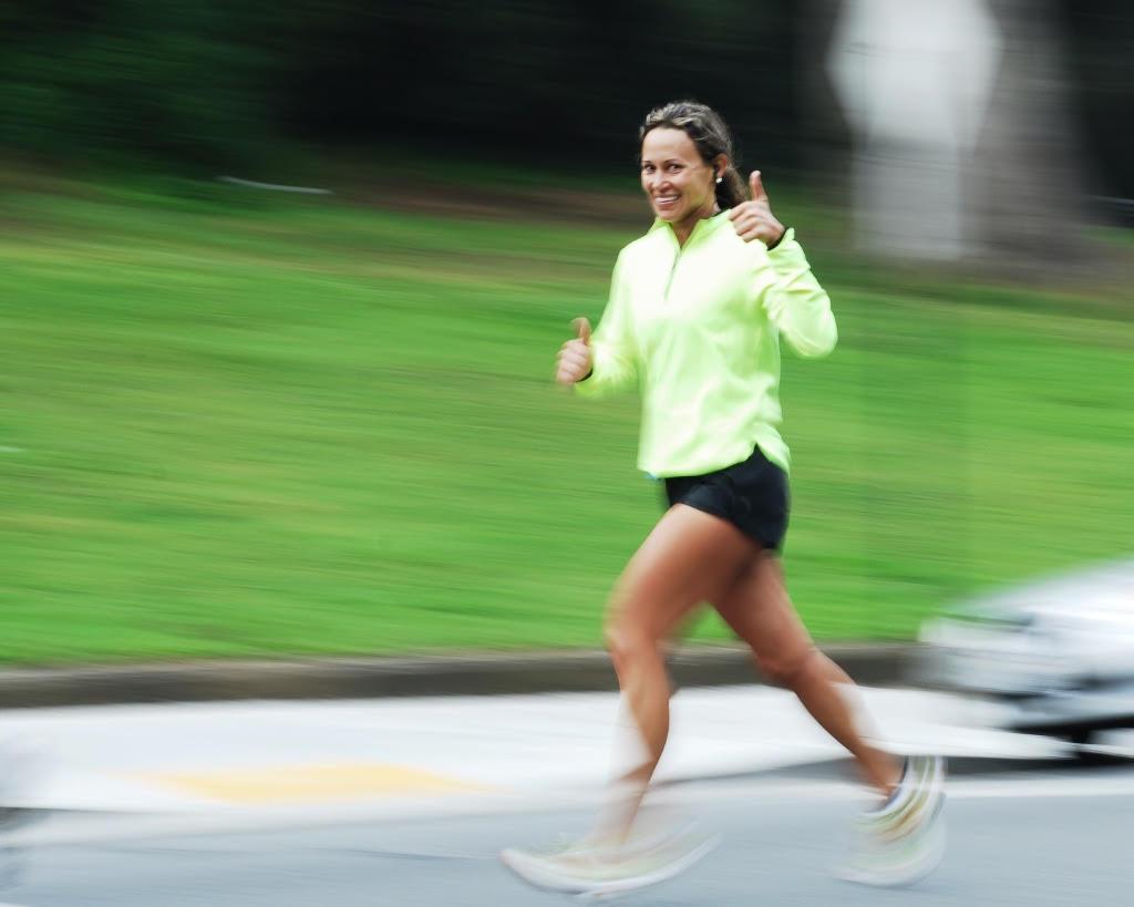 crear un hábito Chica corriendo