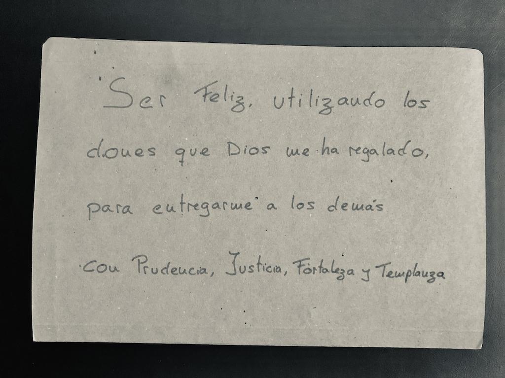 Propósito de vida de Francisco de Paula